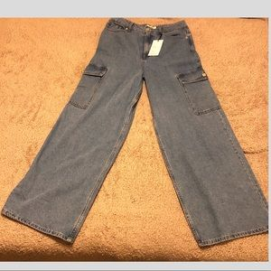 Wide Legged Flared Jeans (WITH TAGS)